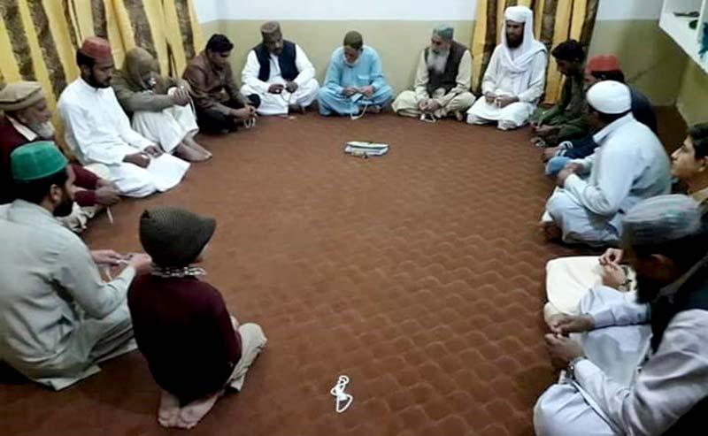 منہاج القرآن گھوٹکی سٹی میں گوشہ درود کا قیام