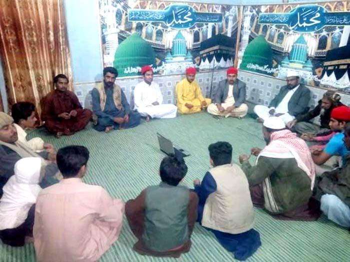 تحریک منہاج القرآن ڈھرکی سٹی کے زیراہتمام حلقہ درود