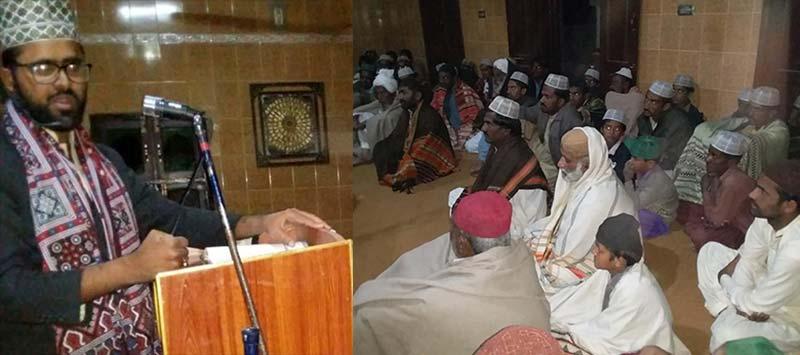 تحریک منہاج القران کھپرو کے زیراہتمام علامہ محمد محسن قادری کا درس قرآن
