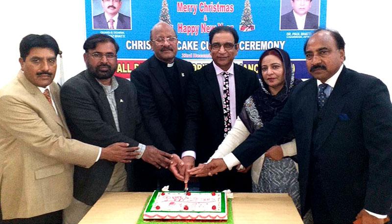 آل پاکستان مینارٹیز کے زیراہتمام انٹرفیتھ دعائیہ تقریب