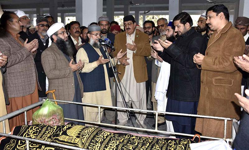 ڈاکٹر طاہرالقادری کا انجینئر رفیق نجم کے والد کے انتقال پر اظہار افسوس