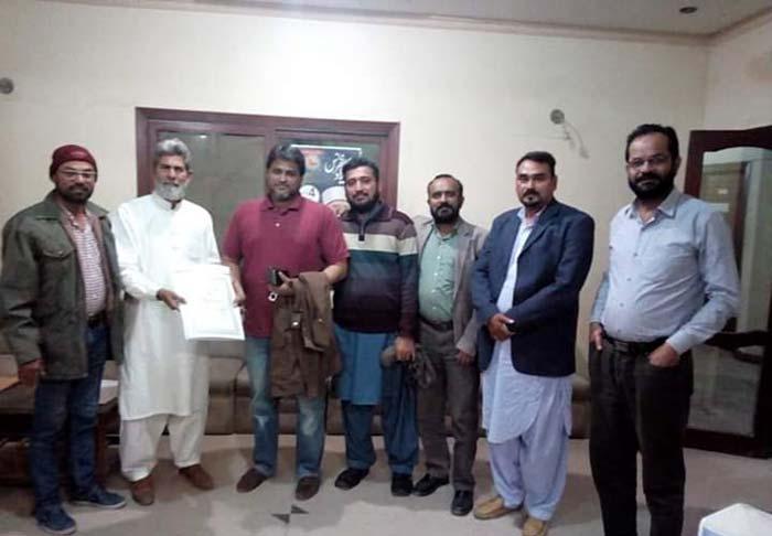 تحریک منہاج القرآن کی تاحیات رفاقت لینے پر اطہر جاوید صدیقی کے لیے تقریب