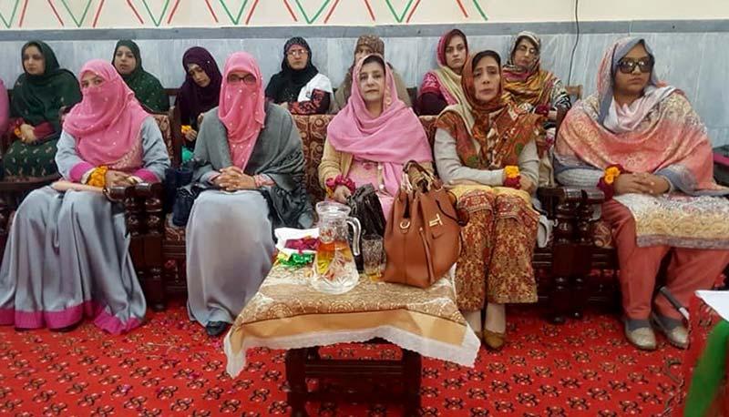 منہاج القران ویمن لیگ تحصیل جہلم کی سالانہ محفل میلاد مصطفی ﷺ