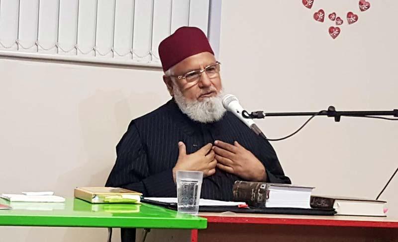 علامہ حافظ نذیر احمد قادری کا دورہ برطانیہ