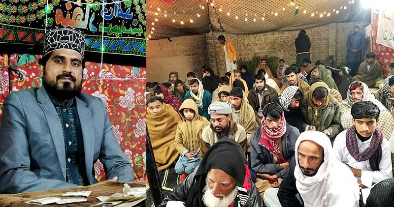 راجن پور: منہاج القرآن لنڈی سیدن کے زیراہتمام محفل میلادالنبی ﷺ، علامہ صابر کمال وٹو کا خطاب