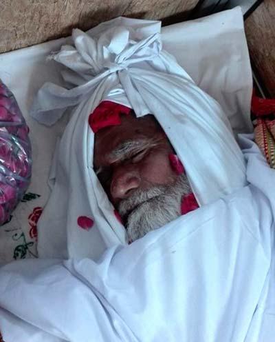 تحریک منہاج القرآن کے بزرگ کارکن بابا صوفی محمد نذیر وفات پاگئے