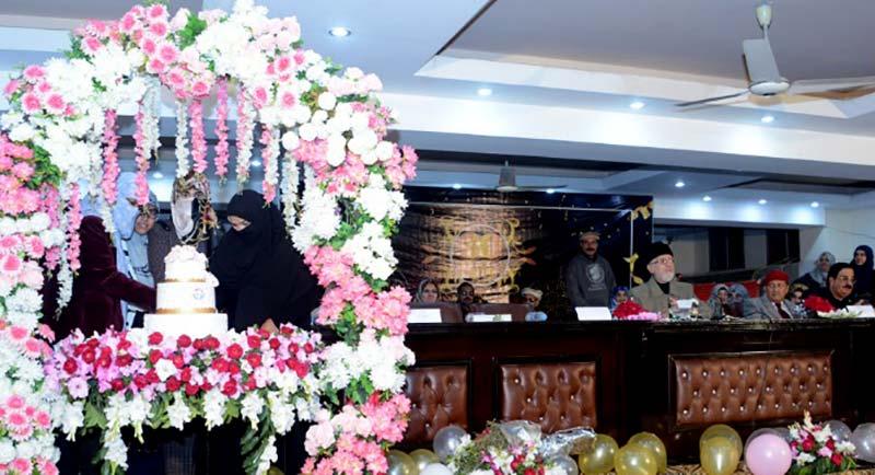 MWL has become largest platform for women rights: Dr Tahir-ul-Qadri