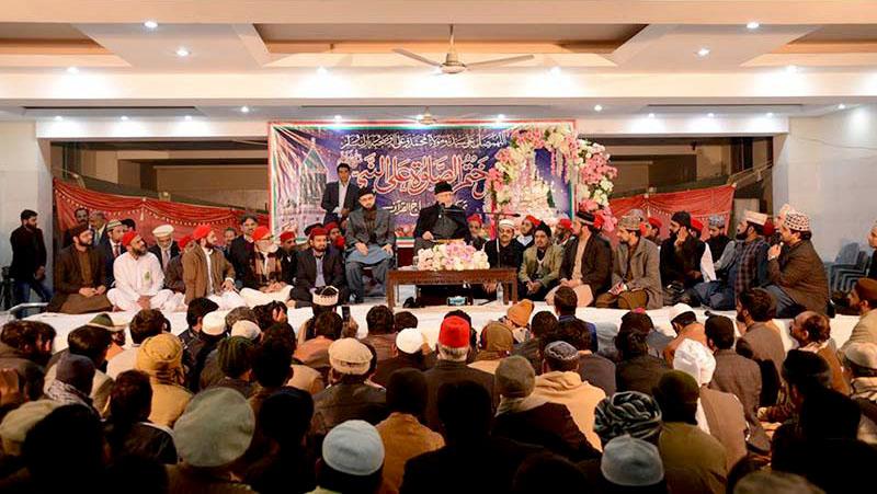 Gosha-e-Durood: Monthly spiritual gathering for January 2019 held