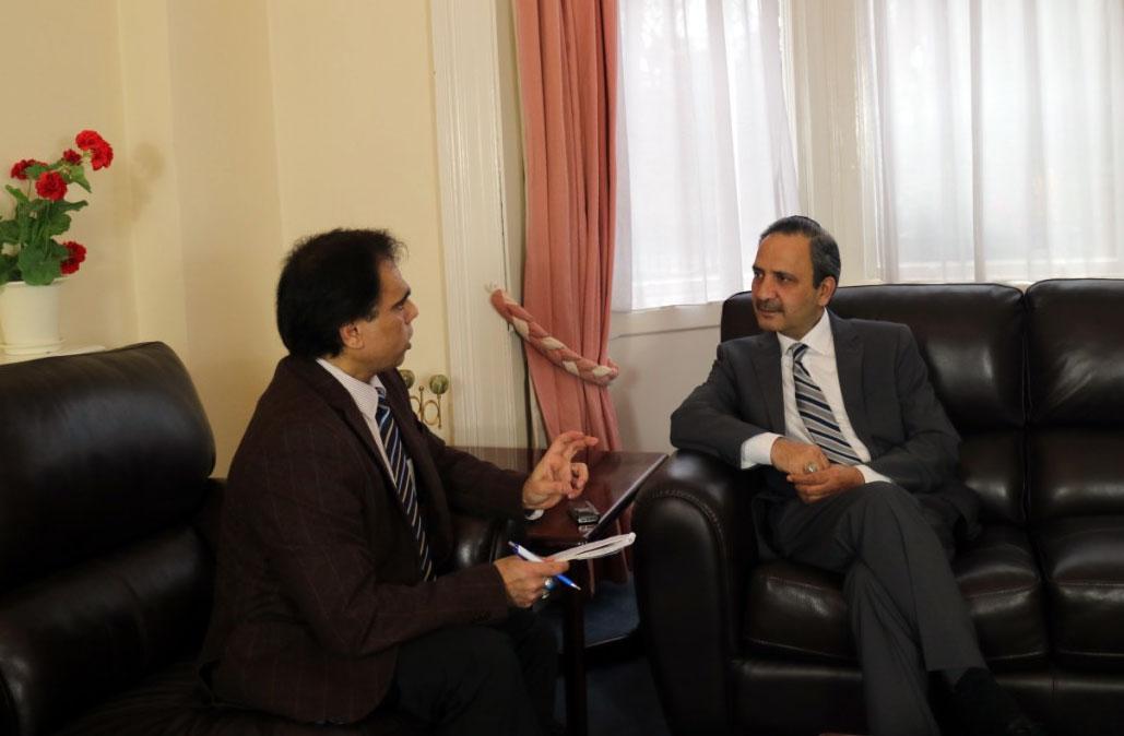 منہاج القرآن آئرلینڈ کے صدر وسیم بٹ کی سفیر پاکستان سردار شجاع عالم سے سفارتخانہ ڈبلن میں ملاقات
