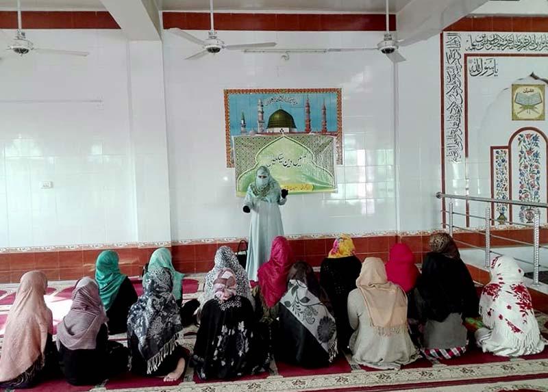 منہاج القرآن ویمن لیگ کوٹلہ فقیر کے زیراہتمام ''آئیں دین سکھیں کورس'' کا انعقاد