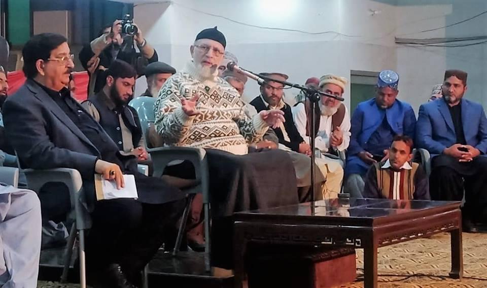 ڈاکٹر طاہرالقادری سے خیبرپختونخواہ کے تنظیمی عہدیداروں کی ملاقات