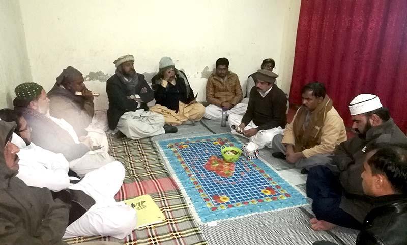 منہاج القرآن راجن پور کے زیرانتظام حلقہ درود
