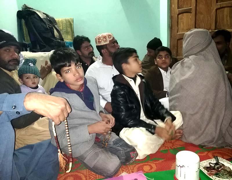 تحریک منہاج القرآن راجن پور کے زیراہتمام حلقہ درود