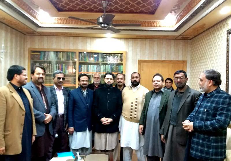 دہشتگردی و انتہا پسندی آج بھی بڑا مسئلہ ہے: ڈاکٹر حسن محی الدین قادری کی پاکستان عوامی تحریک لاہور کے رہنماؤں سے ملاقات میں گفتگو