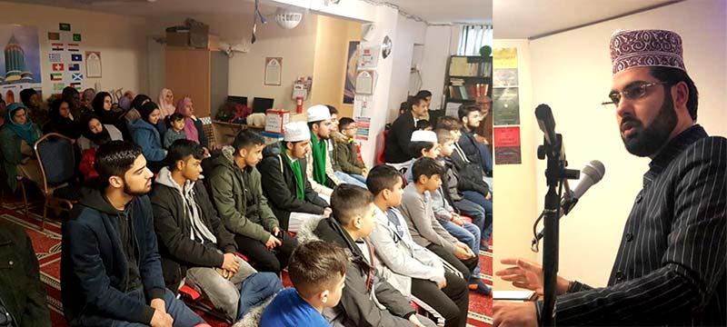 نارتھمپٹن: منہاج القرآن یوتھ کانفرنس میں علامہ قاسم الازھری کا خطاب
