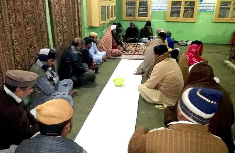 تحریک منہاج القرآن راجن پور کے زیرانتظام حلقہ درود