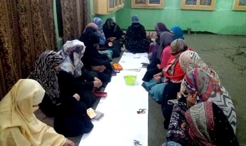 منہاج القرآن ویمن لیگ راجن پور کا حلقہ درود