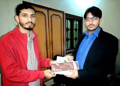 پاکستان عوامی تحریک کے سیکرٹری اطلاعات الیاس مغل سے وفد کی ملاقات
