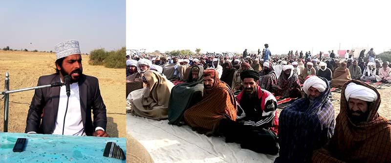 تحریک منہاج القرآن لعل گڑھ کے زیراہتمام تعزیتی پروگرام میں علامہ طالب حسین قادری کا خطاب