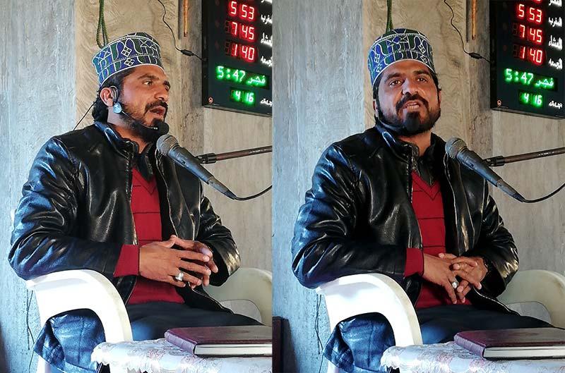 منہاج القرآن رسول پور ضلع راجن پور کے زیراہتمام درس عرفان القرآن