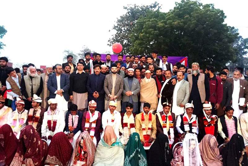 منہاج ویلفیئر فاونڈیشن خانقاں ڈوگراں کے زیراہتمام شادیوں کی اجتماعی تقریب، ڈاکٹر حسن محی الدین قادری کی شرکت