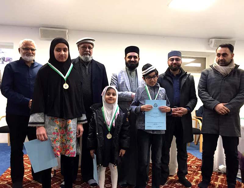 ڈنمارک: منہاج القرآن انٹرنیشنل ویلبی سنٹر کے زیراہتمام طلباء کی سالانہ تقریب تقسیم انعامات