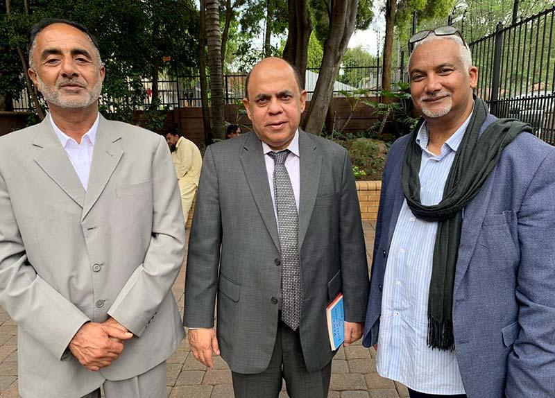 منہاج القرآن انٹرنیشنل ساؤتھ افریقہ کے ناظم پبلک ریلیشنز کی پاکستانی ہائی کمشنر اور مانڈلا منڈیلا کے ایڈوائزر سے ملاقات