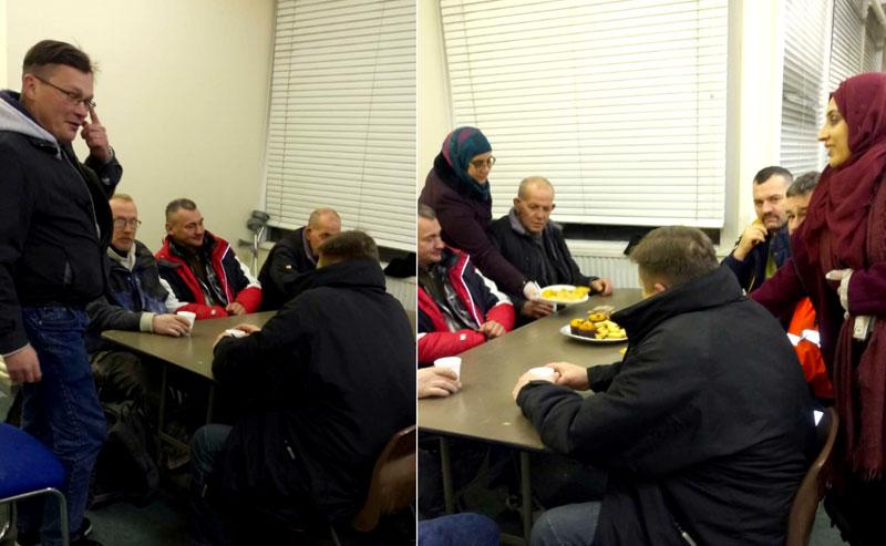 Minhaj Sisters Midlands partake in feeding the homeless