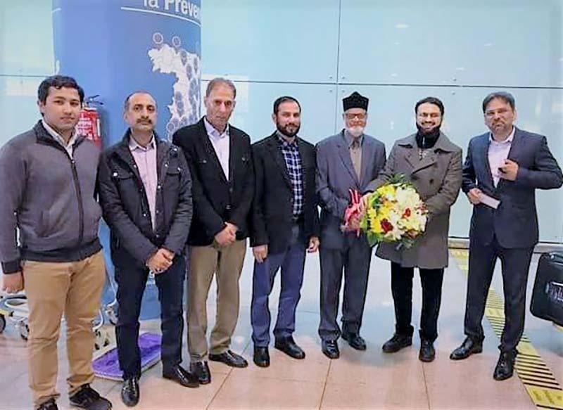 ڈاکٹر حسن محی الدین قادری یورپ کے تنظیمی دورے پر روانہ