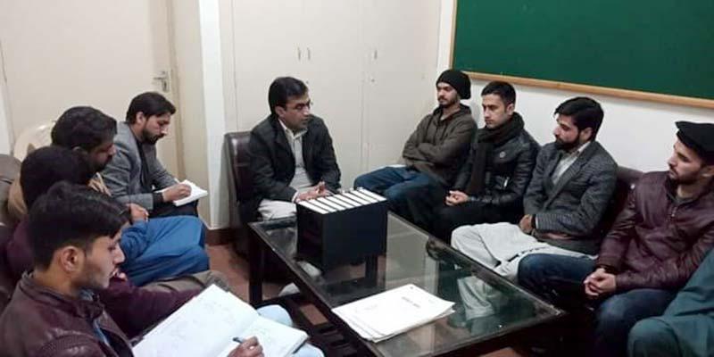 منہاج یوتھ لیگ اسلام آباد کی ضلعی ایگزیکٹو کا اجلاس