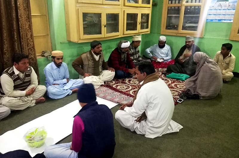 منہاج القرآن راجن پور کے زیراہتمام ہفت روزہ حلقہ درود