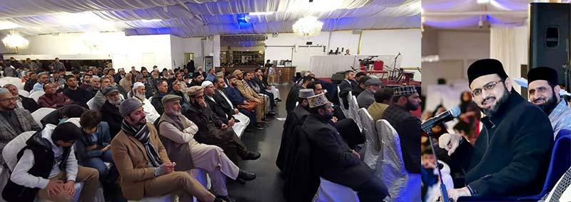 ڈنمارک: شیخ الاسلام ڈاکٹر محمد طاہرالقادری کی 68 ویں سالگرہ کے موقع پر محفلِ نعت و دعائیہ تقریب
