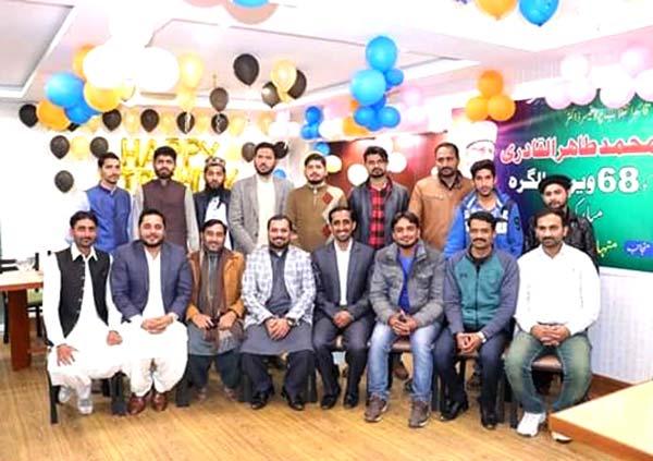 منہاج یوتھ لیگ فیصل آباد کے زیراہتمام قائد ڈے تقریب