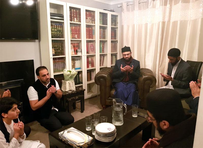 Dr Hassan Mohi-ud-Din Qadri visits residence of late Allama Nisar Ahmad Baig Qadri for condolences