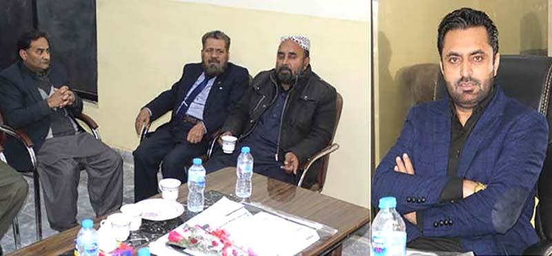عوامی تحریک شمالی پنجاب کے نو منتخب صدر قاضی شفیق کی زیرصدارت پہلا اجلاس