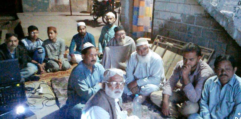 منہاج القرآن تحصیل لطیف آباد کے زیراہتمام خواجہ غریب نواز کے عرس کی تقریب
