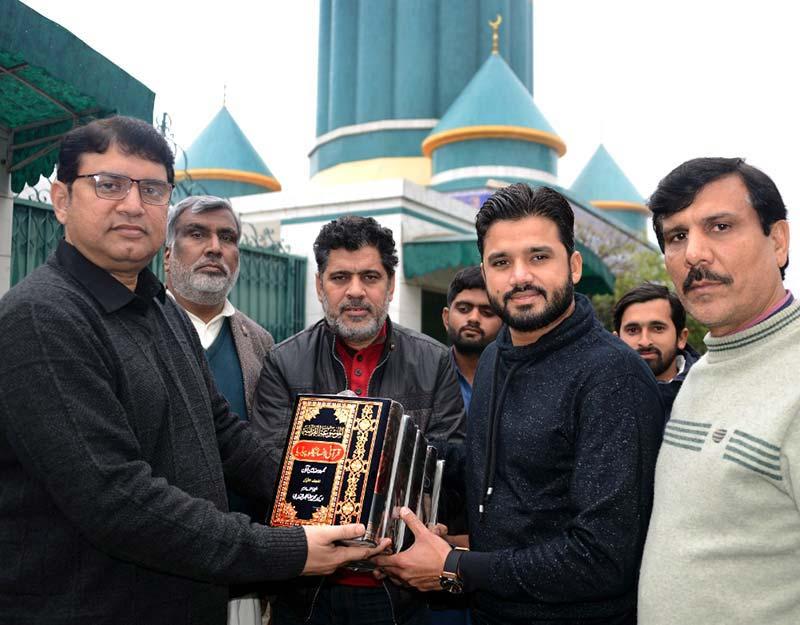Cricketer Azhar Ali visits central secretariat of MQI