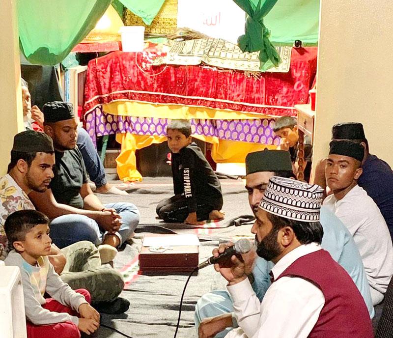 منہاج القرآن جنوبی افریقہ: محفل نعت کا انعقاد