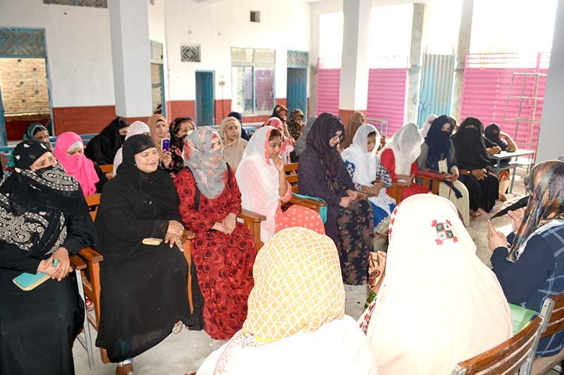 لودھراں: منہاج القرآن ویمن لیگ کی تربیتی نشست