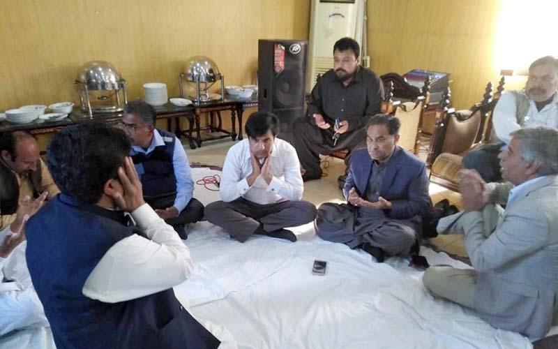 پاکستان عوامی تحریک کی نیشنل پریس کلب اسلام آباد کے سیکرٹری انور رضا سے تعزیت