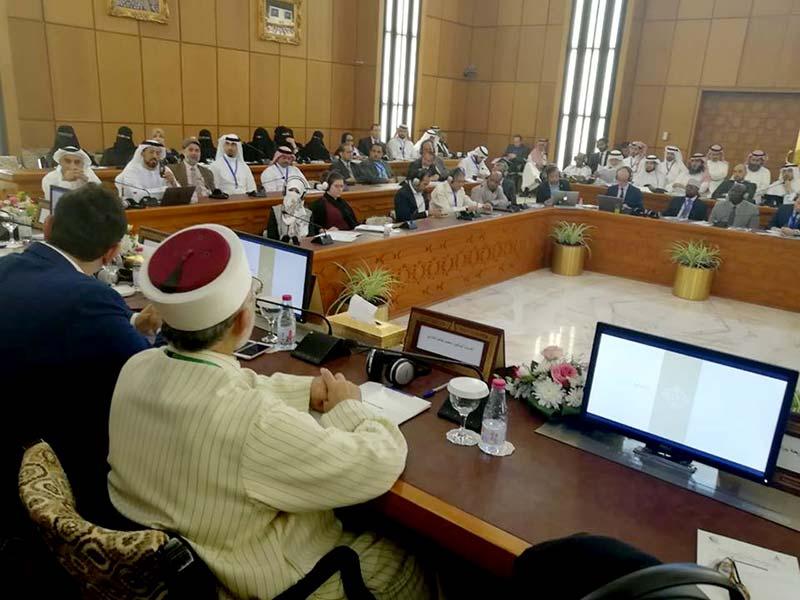 او آئی سی اجلاس میں ڈاکٹر طاہرالقادری کی منہاج القرآن ویمن لیگ کے رول پر گفتگو