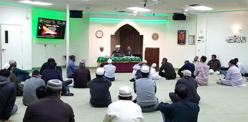 Texas, USA: MQI holds ceremony to celebrate Miraj-un-Nabi (SAW)