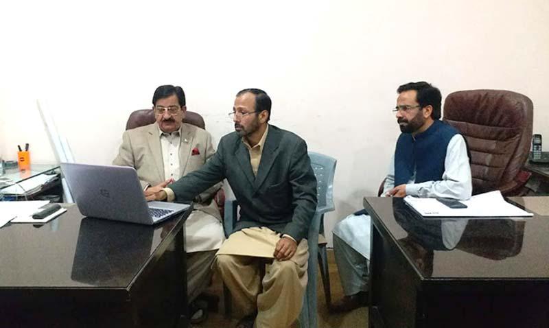 پاکستان عوامی تحریک کی نئی ویب سائٹ کا افتتاح