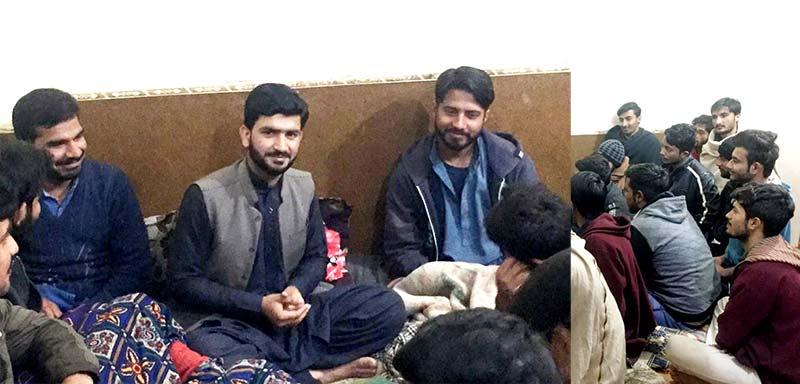 مصطفوی سٹوڈنٹس موومنٹ یونیورسٹی آف پونچھ آزاد کشمیر کی تنظیم نو