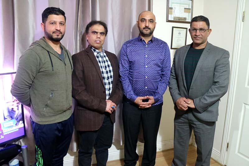 منہاج القرآن آئرلینڈ کے صدر وسیم بٹ سے صحافی نواز مجید کشمیری کی ملاقات