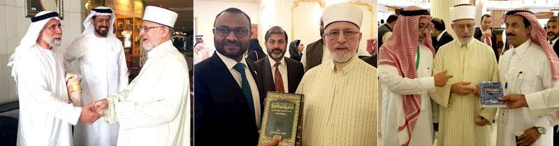 Solutions to problems facing Muslims to come through debates: Dr Tahir-ul-Qadri