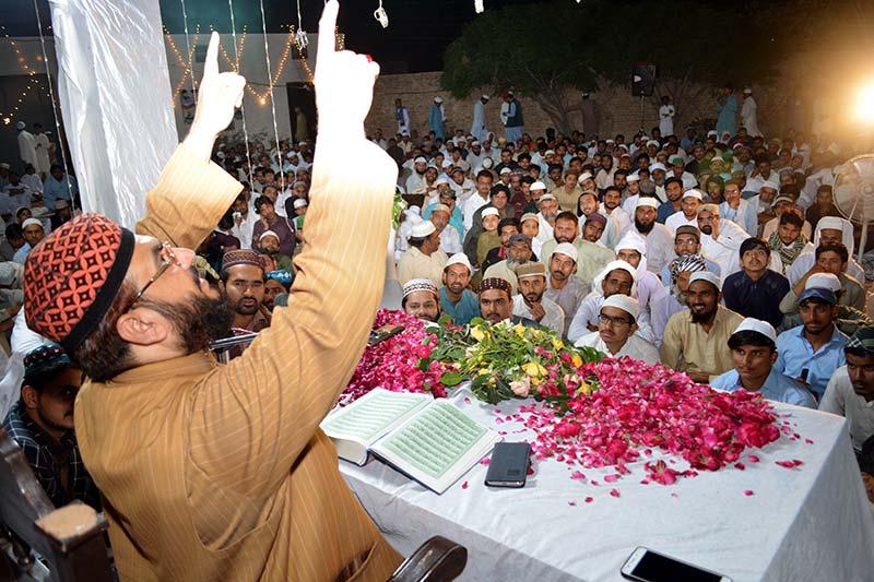 منہاج القرآن لودھراں کے زیراہتمام شب برات کا سالانہ اجتماع