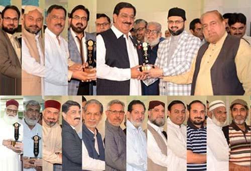 منہاج القرآن کے شعبہ ریسورس اینڈ ڈویلپمنٹ کے زیراہتمام سالانہ ''تقسیم ایوارڈز  تقریب''