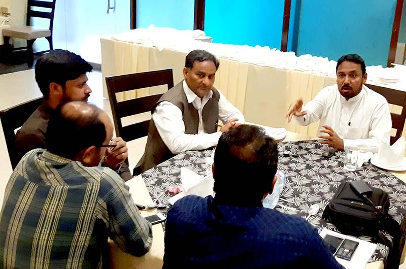 قرآنی انسائیکلو پیڈیا سیمینار کے لیے پاکستان عوامی تحریک اور تحریک منہاج  القرآن اسلام آباد کی میڈیا کمیٹی کا اجلاس