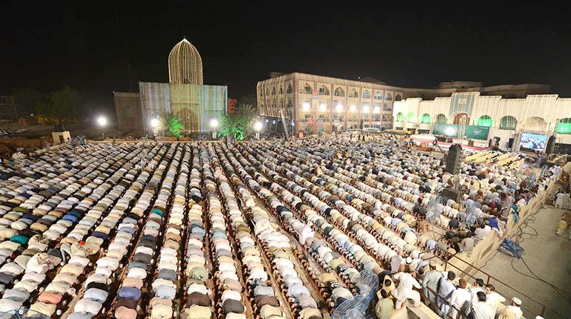 استقبال رمضان اور شہر اعتکاف 2019ء کے لیے تیاریاں شروع